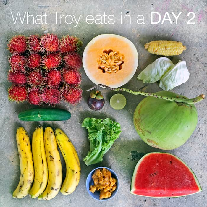 What Troy eats on a random day 2 (in Thailand)