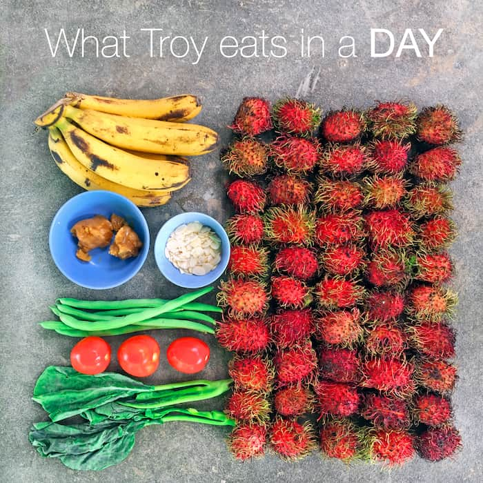 What Troy eats on a random DAY 1 (in Thailand)