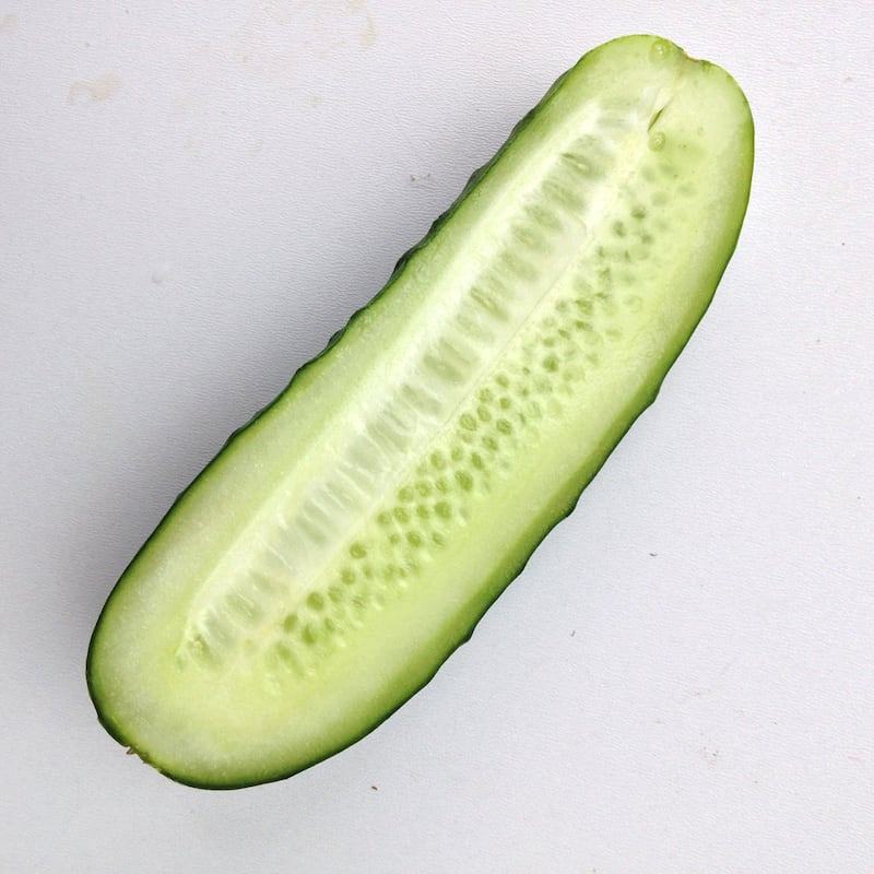 Alkalizing cucumbers are also hydrating. Best quality of water your body needs.